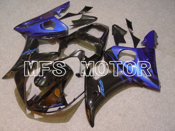 Yamaha YZF-R6 2003-2004 Injection ABS Fairing - Flame - Blue Black - MFS5213
