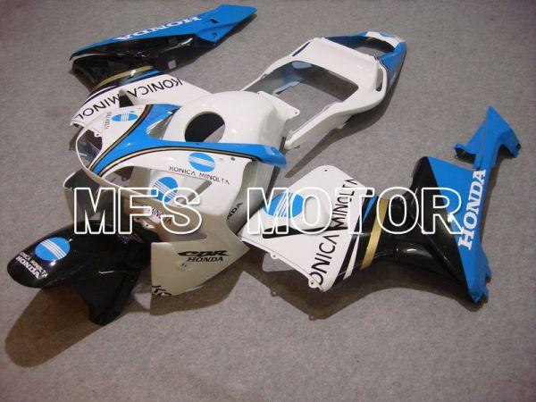 Honda CBR600RR 2003-2004 Injection ABS Fairing - Konica Minolta - White Black Blue - MFS5219