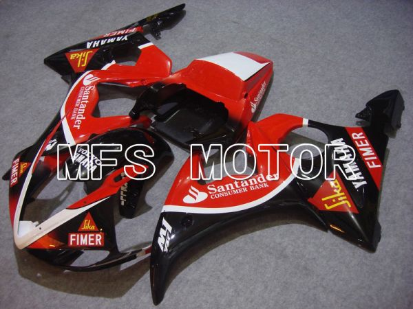 Yamaha YZF-R6 2003-2004 Injection ABS Fairing - Santander - Red Black - MFS5225