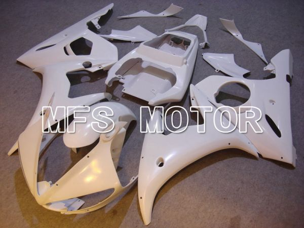 Yamaha YZF-R6 2003-2004 Injection ABS Fairing - Factory Style - White - MFS5227