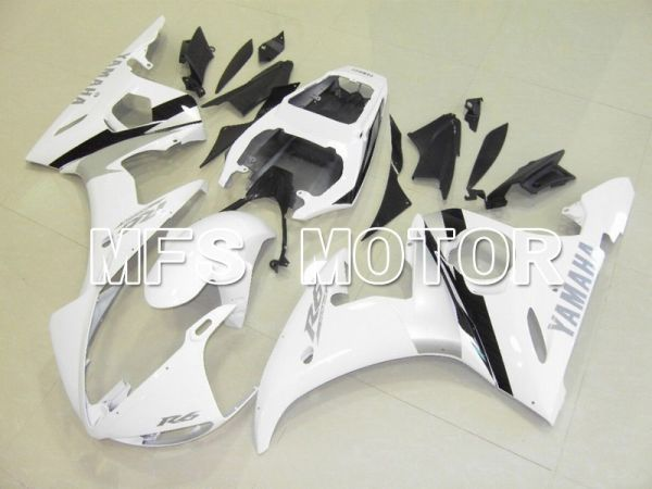 Yamaha YZF-R6 2003-2004 Injection ABS Fairing - Factory Style - White - MFS5228