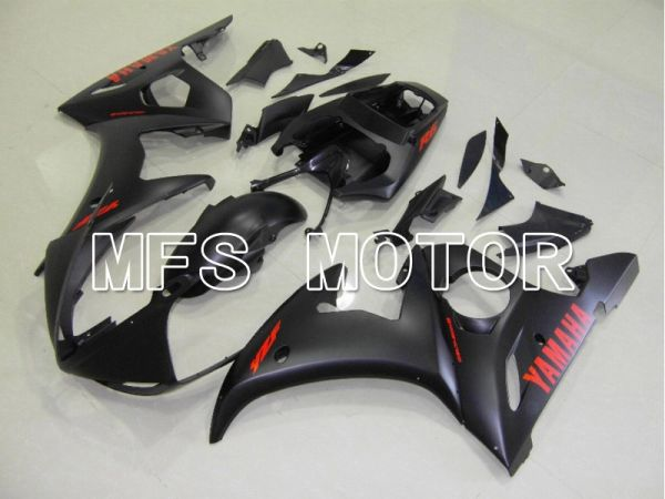 Yamaha YZF-R6 2003-2004 Injection ABS Fairing - Factory Style - Matte Black - MFS5230