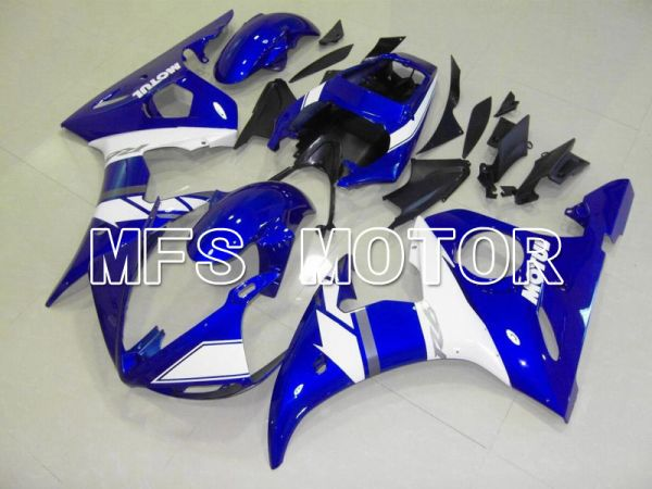 Yamaha YZF-R6 2003-2004 Injection ABS Fairing - Factory Style - Blue White - MFS5232