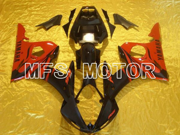 Yamaha YZF-R6 2003-2004 Injection ABS Fairing - Factory Style - Red Black - MFS5233
