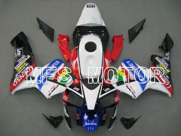 Honda CBR600RR 2003-2004 Injection ABS Fairing - Eurobet - White Black Red - MFS5234