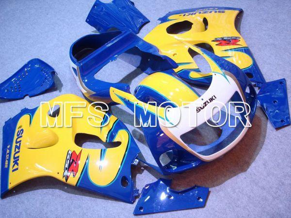 Suzuki GSXR600 1997-2000 ABS Fairing - Factory Style - Blue Yellow - MFS5236
