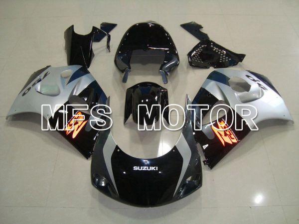 Suzuki GSXR750 1996-1999 ABS Fairing - Factory Style - Black Silver - MFS6894
