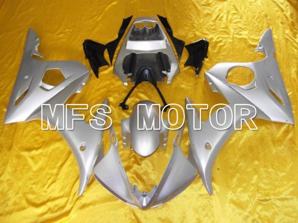 Yamaha YZF-R6 2003-2004 Injection ABS Fairing - Factory Style - Silver Matte - MFS5238