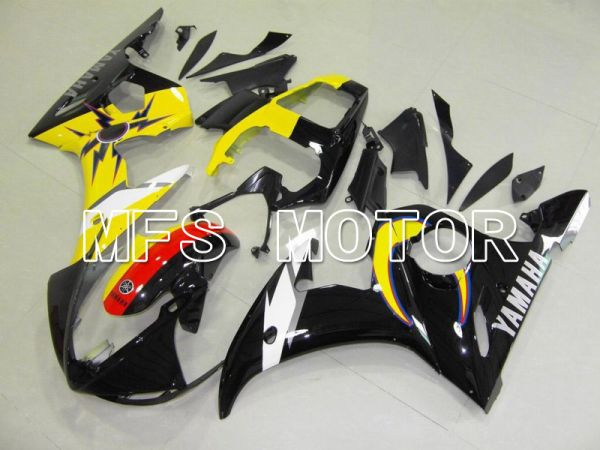 Yamaha YZF-R6 2003-2004 Injection ABS Fairing - Factory Style - Yellow Black - MFS5240