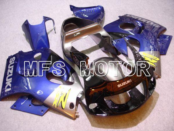 Suzuki GSXR750 1996-1999 ABS Fairing - Factory Style - Blue Silver - MFS6896