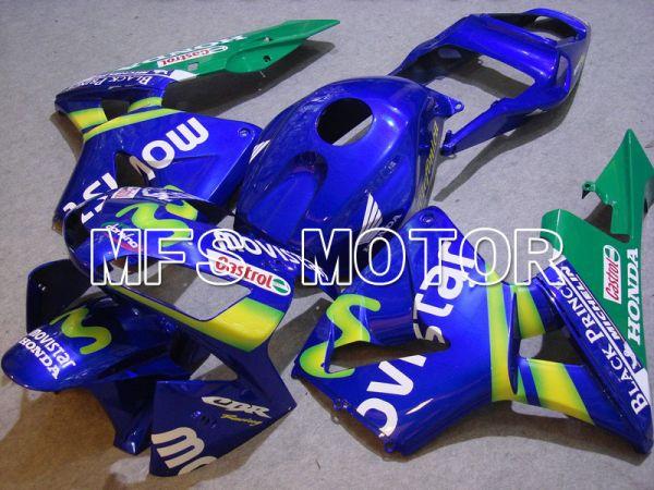 Honda CBR600RR 2003-2004 ABS Injection Fairing - Movistar - Blue Green - MFS5244