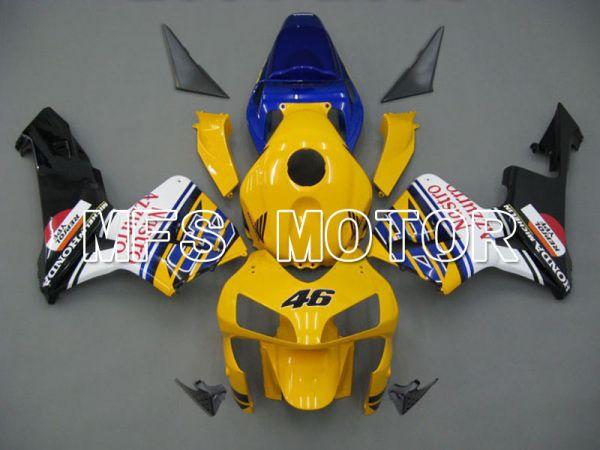 Honda CBR600RR 2003-2004 ABS Injection Fairing - Nastro Azzurro - Yellow Black - MFS5259