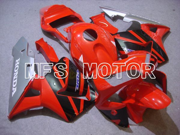 Honda CBR600RR 2003-2004 ABS Injection Fairing - Factory Style - Red Black - MFS5281