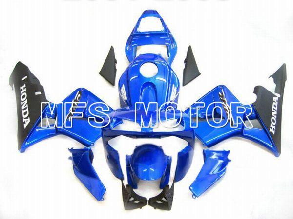 Honda CBR600RR 2003-2004 Injection ABS Fairing - Factory Style - Blue Black - MFS5287