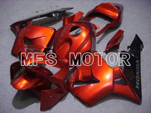 Honda CBR600RR 2003-2004 Injection ABS Fairing - Factory Style - Orange Black - MFS5289