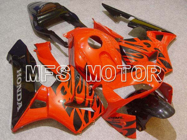 Honda CBR600RR 2003-2004 ABS Injection Fairing - Others - Orange Black - MFS5291