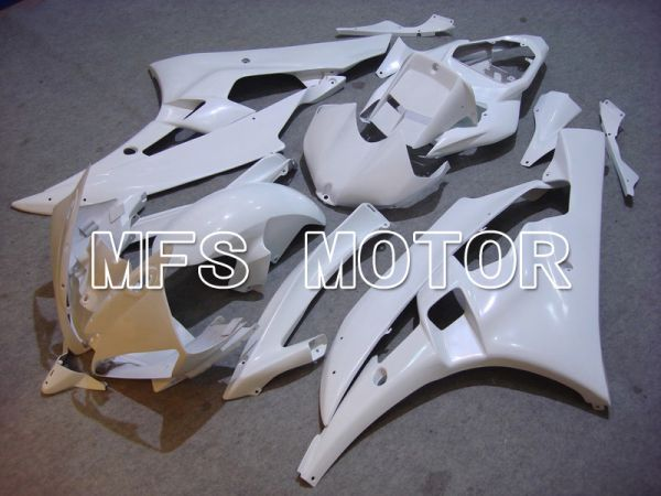 Yamaha YZF-R6 2006-2007 Injection ABS Fairing - Factory Style - White - MFS5294
