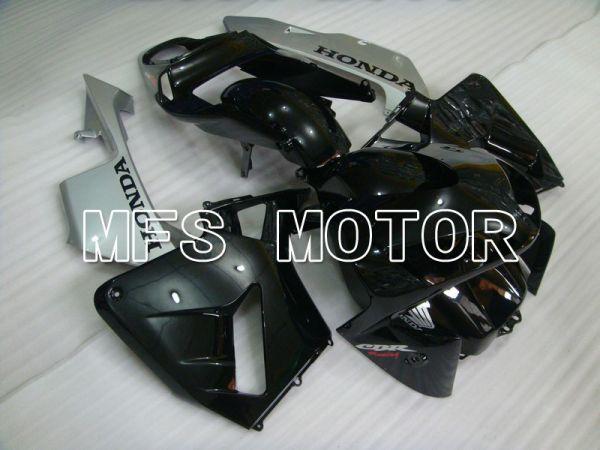 Honda CBR600RR 2003-2004 ABS Injection Fairing - Factory Style - Black Silver - MFS5298