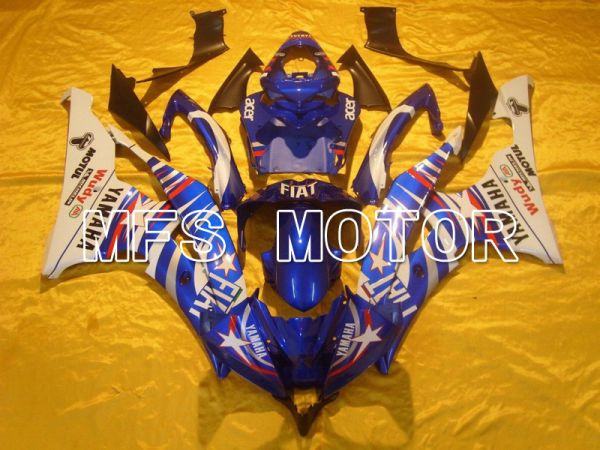 Yamaha YZF-R6 2006-2007 Injection ABS Fairing - FIAT - Blue White - MFS5301