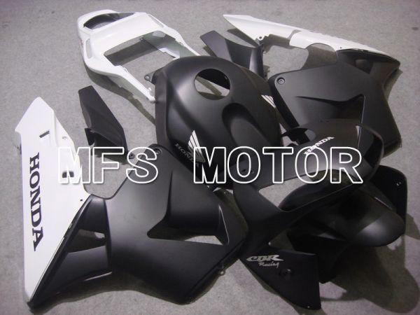 Honda CBR600RR 2003-2004 ABS Injection Fairing - Factory Style - White Black Matte - MFS5308
