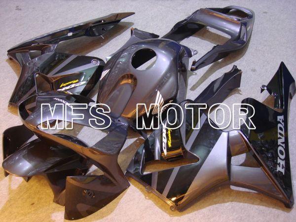 Honda CBR600RR 2003-2004 ABS Injection Fairing - Factory Style - Black Gray - MFS5314