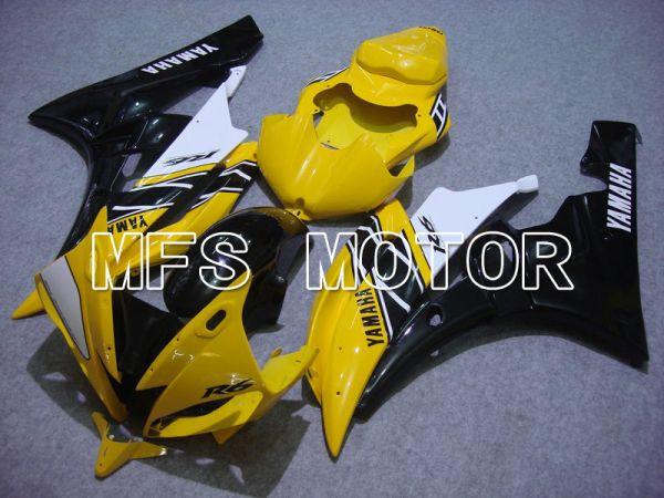 Yamaha YZF-R6 2006-2007 Injection ABS Fairing - MOTUL - Yellow Black - MFS5315