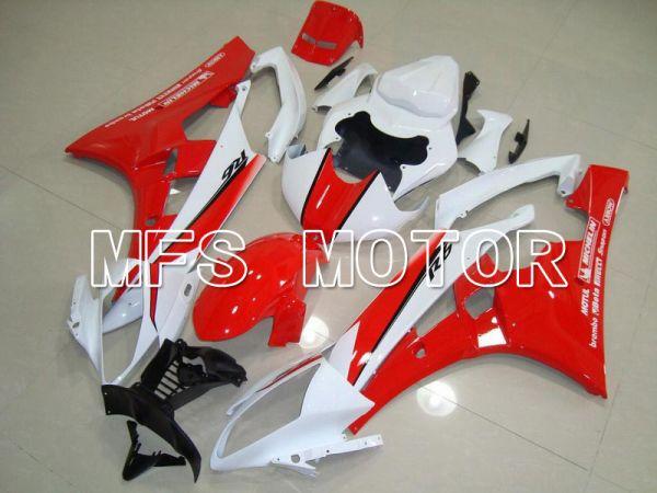 Yamaha YZF-R6 2006-2007 Injection ABS Fairing - MOTUL - Red Black - MFS5318