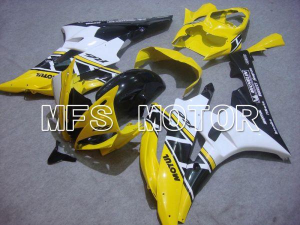 Yamaha YZF-R6 2006-2007 Injection ABS Fairing - MOTUL - Yellow Black - MFS5319