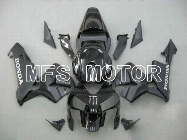Honda CBR600RR 2003-2004 ABS Injection Fairing - Factory Style - Black Gray - MFS5325