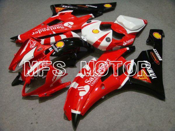 Yamaha YZF-R6 2006-2007 Injection ABS Fairing - Santander - Red Black - MFS5331