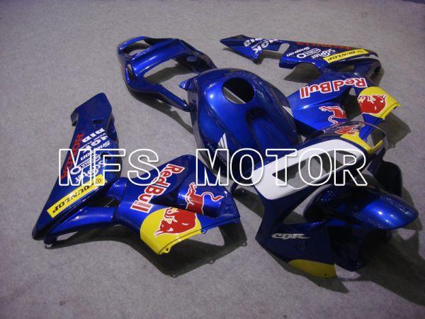 Honda CBR600RR 2003-2004 ABS Injection Fairing - Red Bull - Blue - MFS5336
