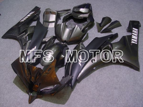 Yamaha YZF-R6 2006-2007 Injection ABS Fairing - Factory Style - Black Matte - MFS5340