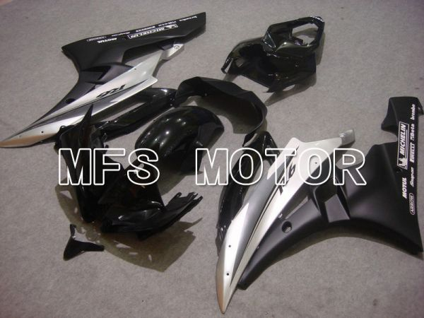 Yamaha YZF-R6 2006-2007 Injection ABS Fairing - Factory Style - Silver Black Matte - MFS5342