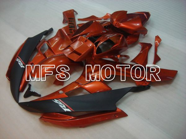 Yamaha YZF-R6 2006-2007 Injection ABS Fairing - Factory Style - Black Orange - MFS5348