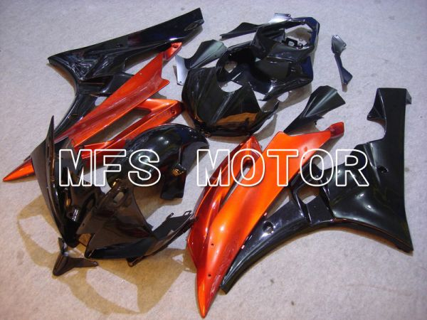 Yamaha YZF-R6 2006-2007 Injection ABS Fairing - Factory Style - Black Orange - MFS5349