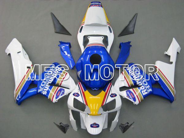 Honda CBR600RR 2003-2004 ABS Injection Fairing - Rothmans - White Blue - MFS5358