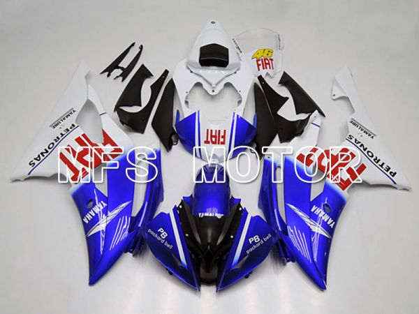 Yamaha YZF-R6 2008-2016 Injection ABS Fairing - FIAT - Blue White - MFS5365
