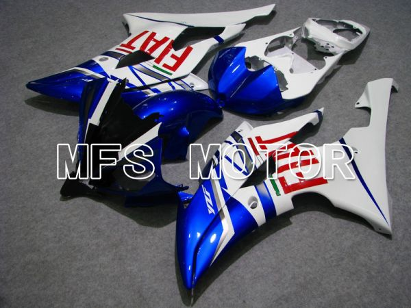 Yamaha YZF-R6 2008-2016 Injection ABS Fairing - FIAT - Blue White - MFS5367