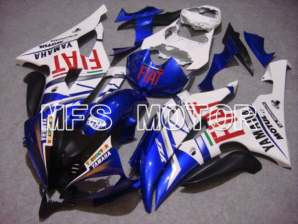 Yamaha YZF-R6 2008-2016 Injection ABS Fairing - FIAT - Blue White - MFS5368
