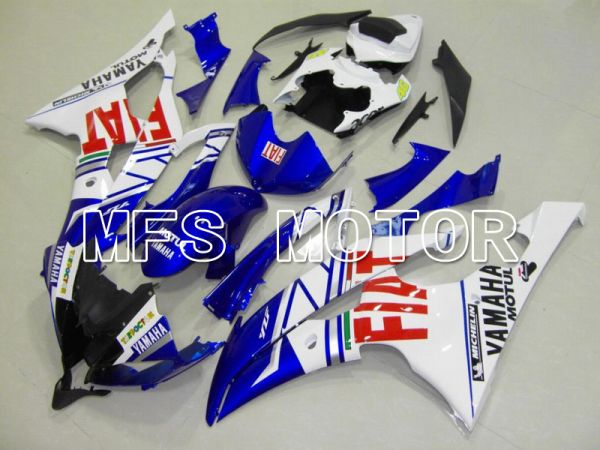 Yamaha YZF-R6 2008-2016 Injection ABS Fairing - FIAT - Blue White - MFS5369