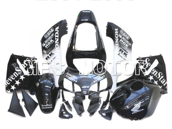 Honda CBR600RR 2003-2004 Injection ABS Fairing - SevenStars - White Black - MFS5370