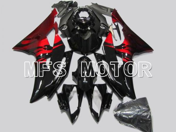 Yamaha YZF-R6 2008-2016 Injection ABS Fairing - Flame - Red Black - MFS5377