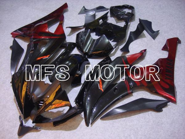 Yamaha YZF-R6 2008-2016 Injection ABS Fairing - Flame - Red Black - MFS5380