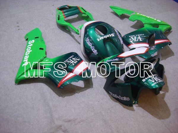 Honda CBR600RR 2003-2004 ABS Injection Fairing - Stobart - Green - MFS5381