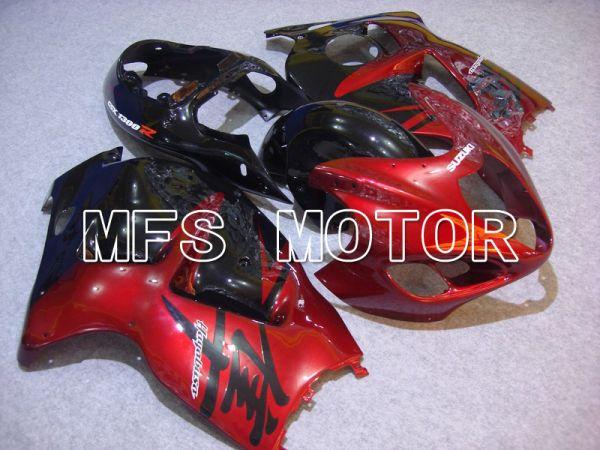 Suzuki GSXR1300 Hayabusa 1999-2007 Injection ABS Fairing - Factory Style - Black Red wine color - MFS5382