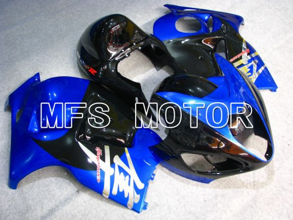 Suzuki GSXR1300 Hayabusa 1999-2007 Injection ABS Fairing - Factory Style - Black Blue - MFS5384