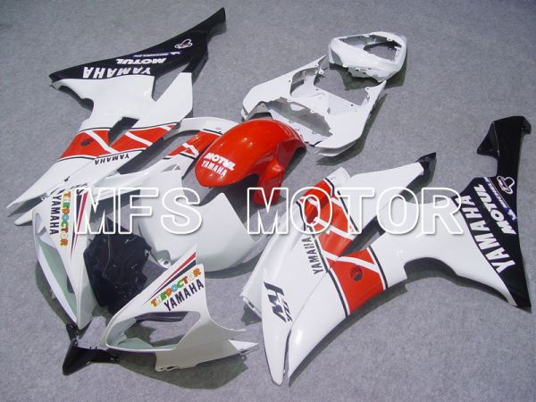 Yamaha YZF-R6 2008-2016 Injection ABS Fairing - Factory Style - Red White - MFS5390