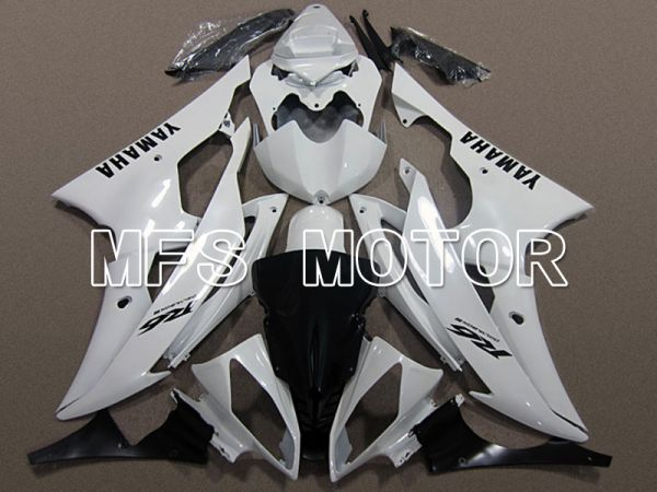 Yamaha YZF-R6 2008-2016 Injection ABS Fairing - Factory Style - White - MFS5394