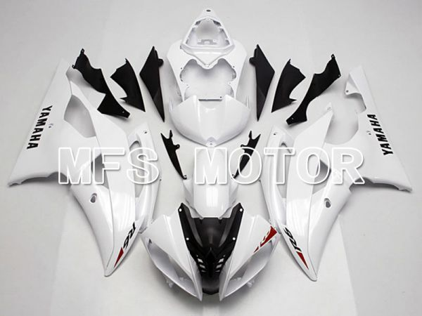 Yamaha YZF-R6 2008-2016 Injection ABS Fairing - Factory Style - White - MFS5395