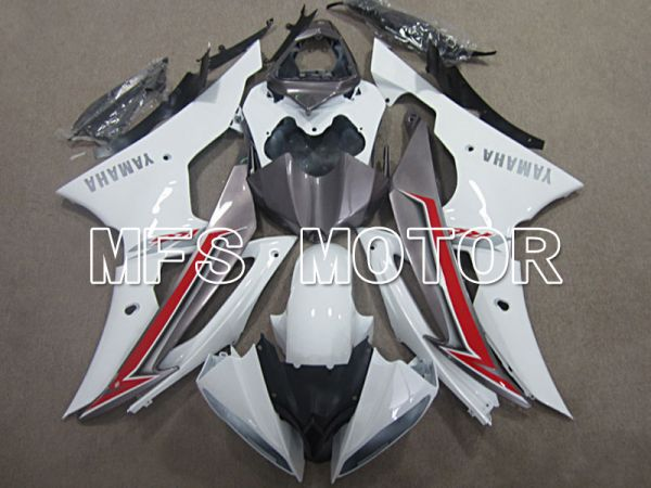 Yamaha YZF-R6 2008-2016 Injection ABS Fairing - Factory Style - White - MFS5396